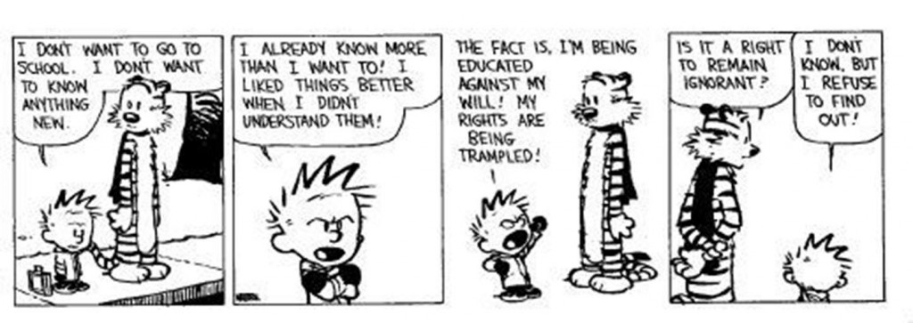 Calvin (of the Hobbes variety) would not have been happy with the Puritans.  John Calvin, however, would have approved.