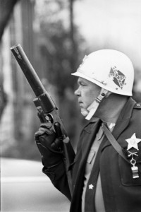 State trooper at Selma, Alabama, 1965.
